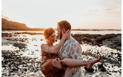 Lifestyle Photos on the Beach in Tamarindo Costa Rica || Brooke + Seth