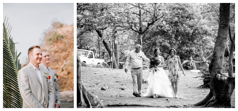 Wedding in Playa Ocotal Costa Rica. Photographed by Kristen M. Brown, Samba to the Sea Photography.