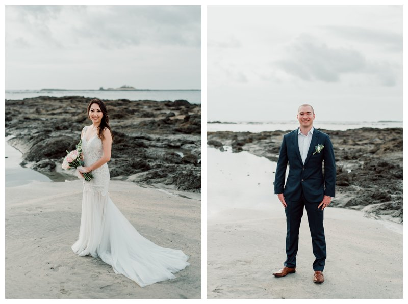 Elope in Costa Rica. Photographed by Kristen M. Brown, Samba to the Sea Photography.