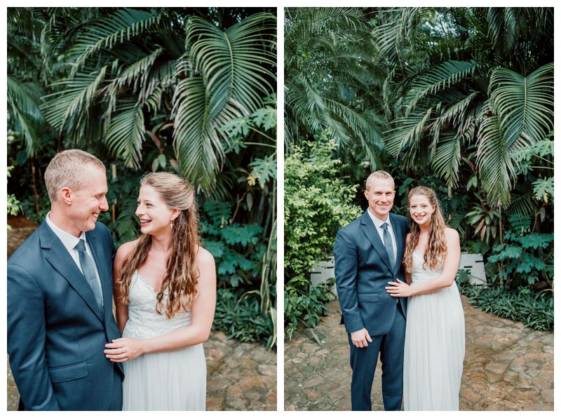 Tropical wedding in Costa Rica. Photographed by Kristen M. Brown, Samba to the Sea Photography.