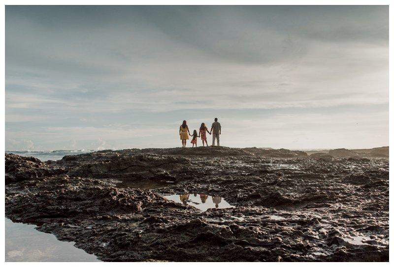 Calu Luna Playa Langosta Costa Rica family photos. Photographed by Kristen M. Brown, Samba to the Sea Photography.