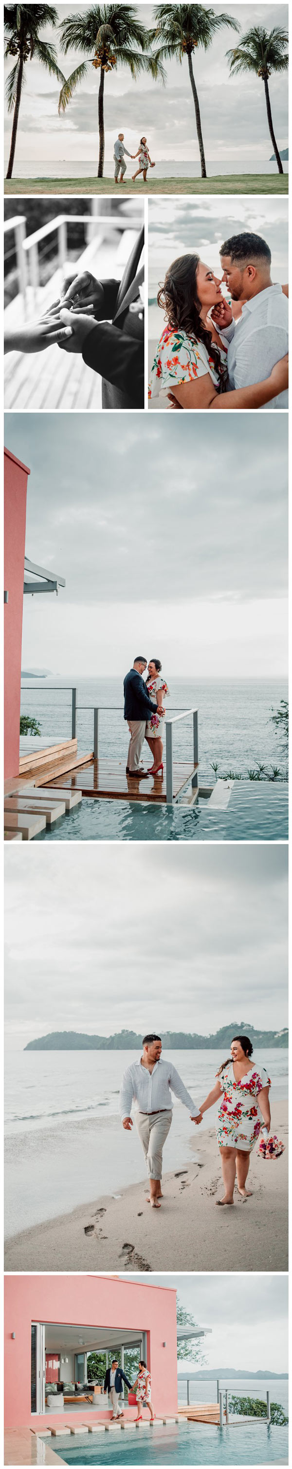 Costa Rica elopement by Playa Flamingo Costa Rica photographer Kristen M. Brown, Samba to the Sea Photography.