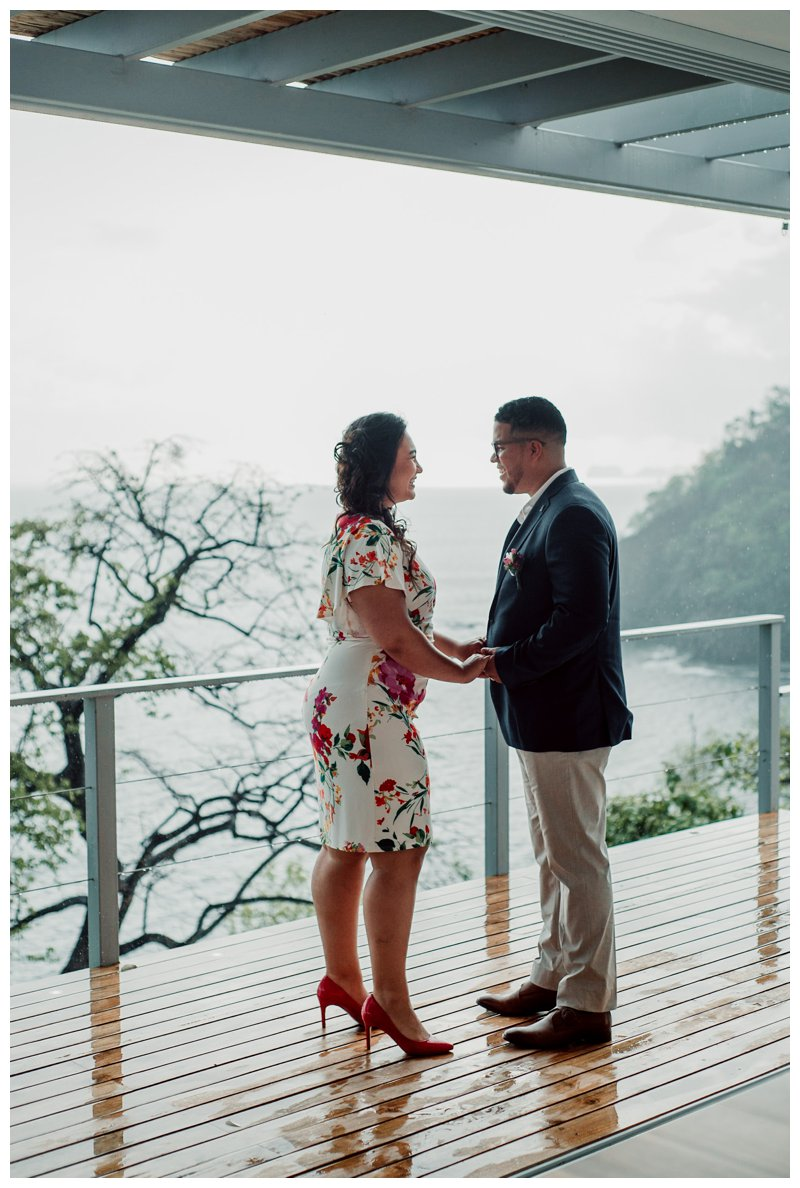Costa Rica elopement at Villa Fugata by Playa Flamingo Costa Rica photographer Kristen M. Brown, Samba to the Sea Photography.