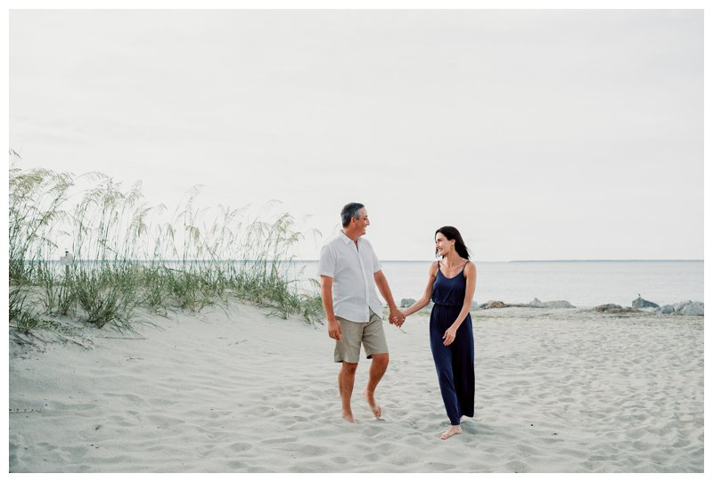 Beach Family Photos on Tybee Island || Hameed Family