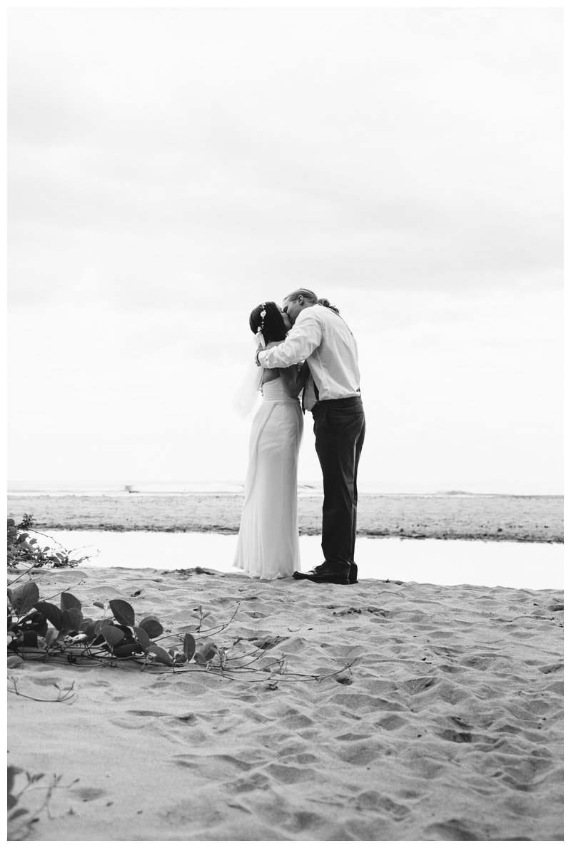 Tamarindo Costa Rica beach elopement. Photographed by Kristen M. Brown, Samba to the Sea Photography.
