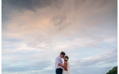 Tropical Wedding at Pangas Beach Club || Hannah Kate + Chase