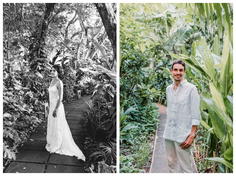 Beach elopement in Playa Langosta Costa Rica. Photographed by Kristen M. Brown, Samba to the Sea Photography.