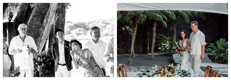 Beach wedding in Tamarindo Costa Rica at Pangas Beach Club. Photographed by Kristen M. Brown, Samba to the Sea Photography.