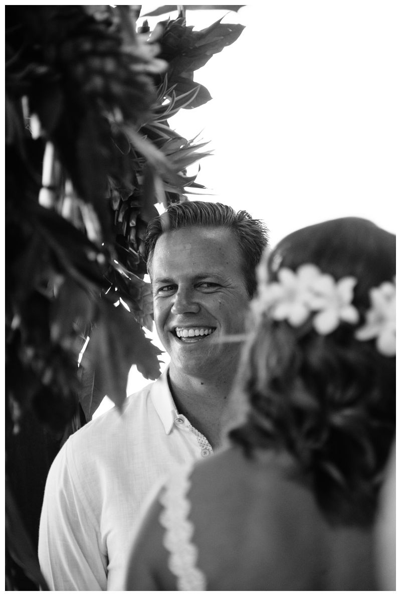 Beach wedding in Playa Conchal Costa Rica photographed by Kristen M. Brown, Samba to the Sea Photography.