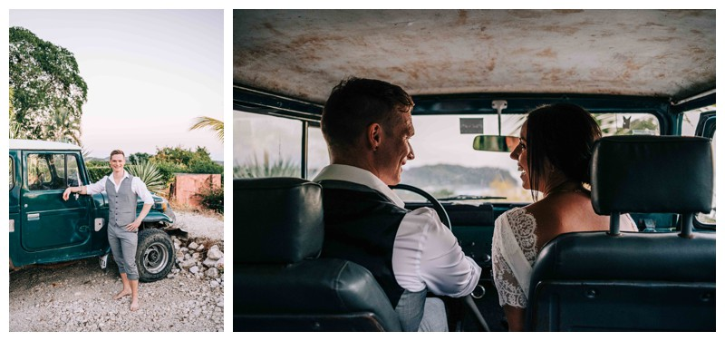 Beach elopement in Samara Costa Rica. Photographed by Kristen M. Brown, Samba to the Sea Photography.