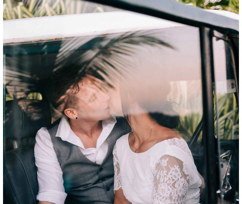 Beach Elopement in Samara Costa Rica || Jenelle + Brad