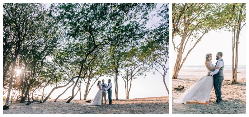 Elope to Tamarindo Costa Rica. Photographed by Kristen M. Brown, Samba to the Sea Photography.