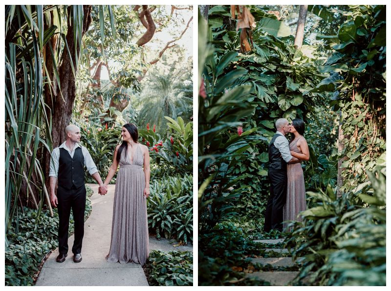 Tropical anniversary photos in Tamarindo Costa Rica at Hotel Capitan Suizo. Photographed by Kristen M. Brown, Samba to the Sea Photography.