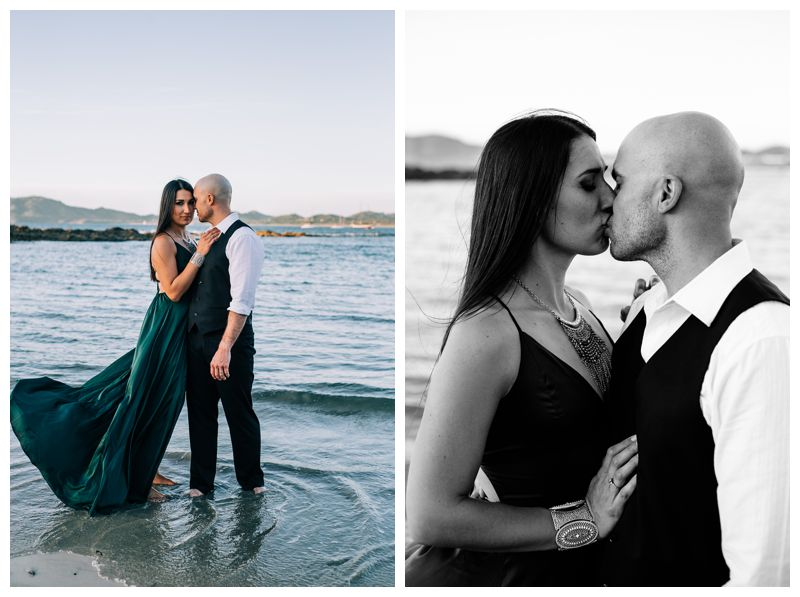 Tropical anniversary photos in Tamarindo Costa Rica. Photographed by Kristen M. Brown, Samba to the Sea Photography.