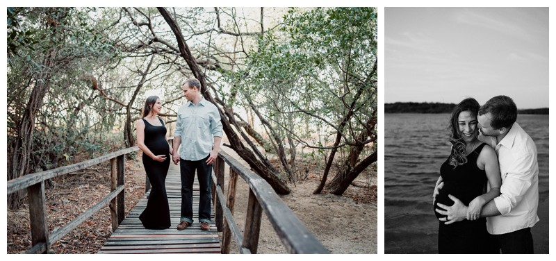 Beach maternity photos in Tamarindo Costa Rica. Photographed by Kristen M. Brown, Samba to the Sea Photography.