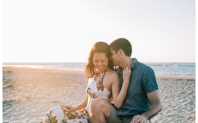 Beach Proposal in Tamarindo Costa Rica || Frances + Ryan: