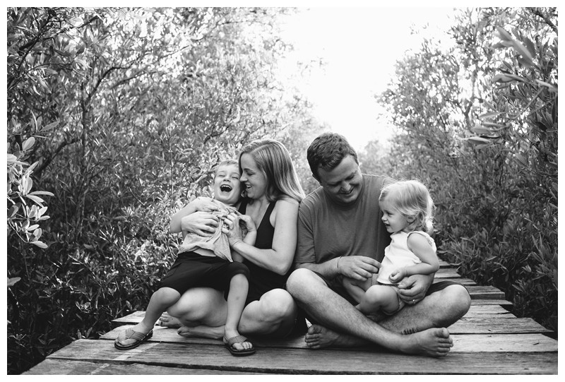 Family photos in Playa Avellanas Costa Rica. Photographed by Kristen M. Brown, Samba to the Sea Photography.