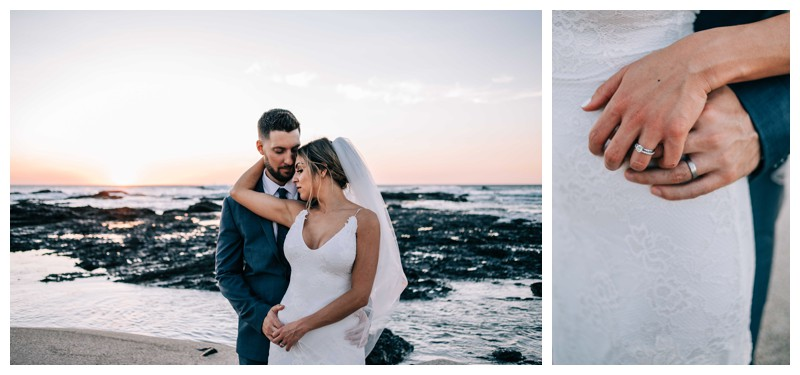 Elegant boho elopement in Costa Rica on the beach in Playa Langosta. Photographed by Kristen M. Brown, Samba to the Sea Photography.