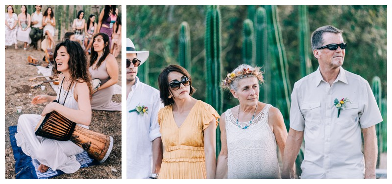 Wedding at La Senda Labyrinth in Costa Rica. Photographed by Kristen M. Brown, Samba to the Sea Photography.