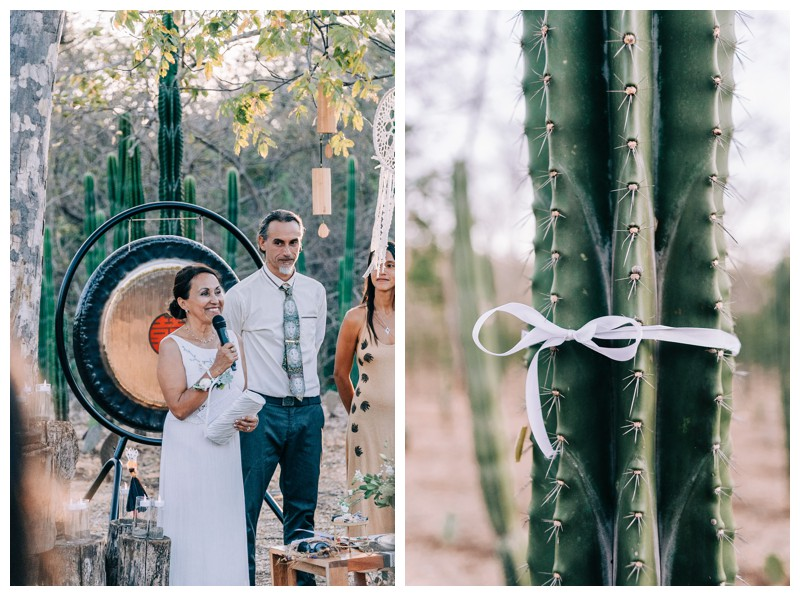 Wedding at La Seanda Labyrinth in Costa Rica. Photographed by Kristen M. Brown, Samba to the Sea Photography.