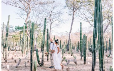 Wedding at La Senda Labyrinth in Costa Rica || Lau + Jerad