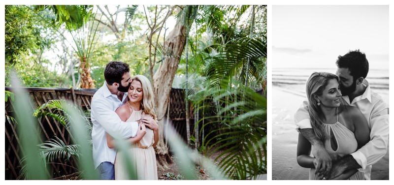 Couples vacation photos in Tamarindo Costa Rica. Photographed by Kristen M. Brown, Samba to the Sea Photography.