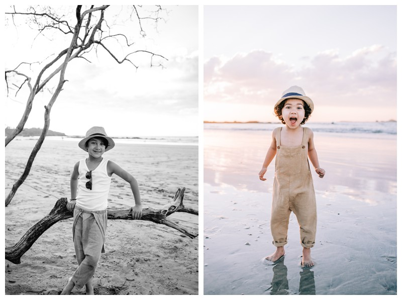 Family photos at Hotel Capitan Suizo in Tamarindo Costa Rica. Photographed by Kristen M. Brown, Samba to the Sea Photography.