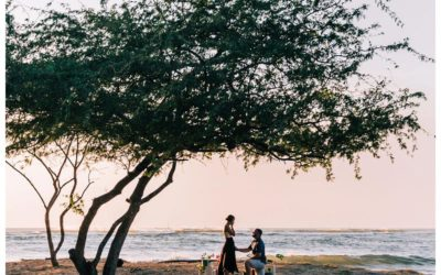Golden Hour Beach Proposal in Tamarindo Costa Rica || Sarah + Austin: