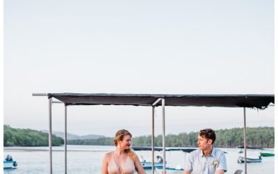 Intimate Destination Beach Wedding in Costa Rica || Amber + Josh
