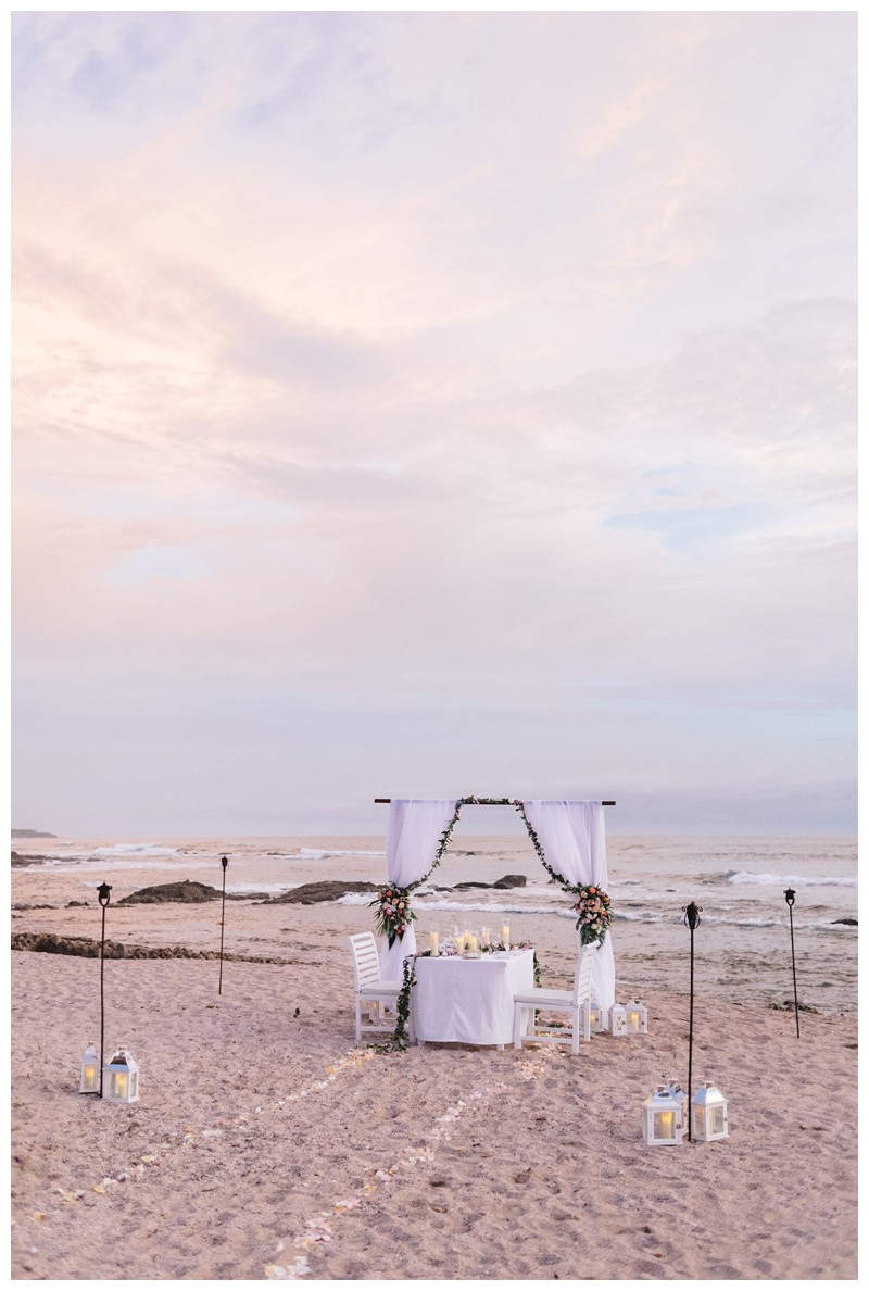 Elopement in Playa Langosta Costa Rica at Cala Luna Boutique Hotel + Villas. Photographed by Kristen M. Brown, Samba to the Sea Photography.