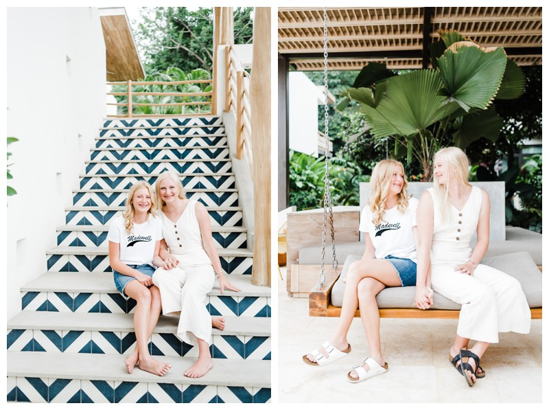 Family photos in Nosara Costa Rica at The Nomadic. Photographed by Kristen M. Brown, Samba to the Sea Photography.