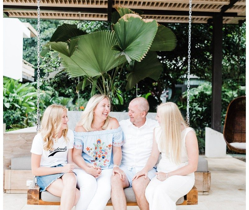 Beach Family Photos in Nosara Costa Rica || Miller Family