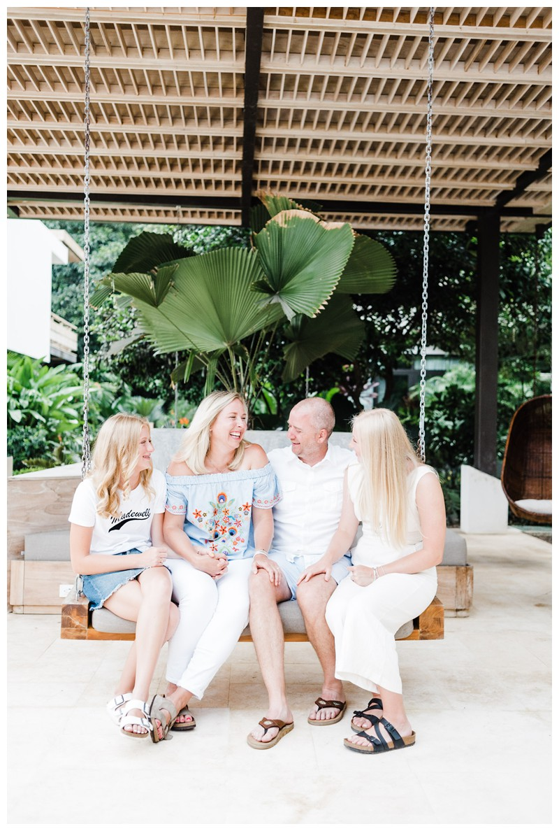 Family photos in Nosara Costa Rica at The Guilded Iguana. Photographed by Kristen M. Brown, Samba to the Sea Photography.