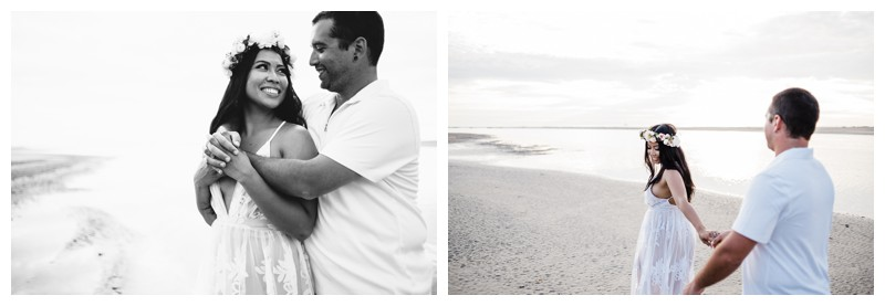 Beach honeymoon photos in Tamarindo Costa Rica. Photographed by Kristen M. Brown, Samba to the Sea Photography.