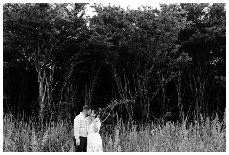 Bride and groom on the beach in Costa Rica. Beach Elopement in Playa Tamarindo, Costa Rica. Photographed by Kristen M. Brown, Samba to the Sea Photography.