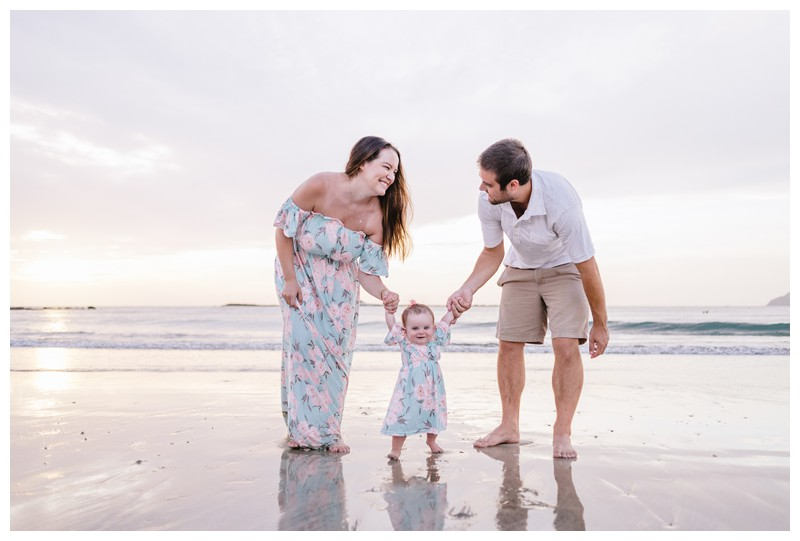 Beach Family Photos in Guanacaste Costa Rica || Thompson Family
