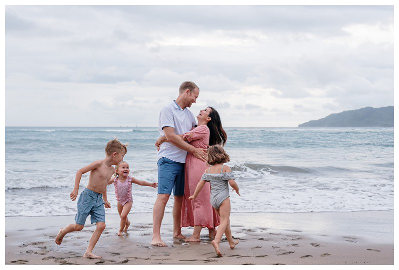Family beach photos in Guanacaste Costa Rica. Photographed by Kristen M. Brown, Samba to the Sea Photography.