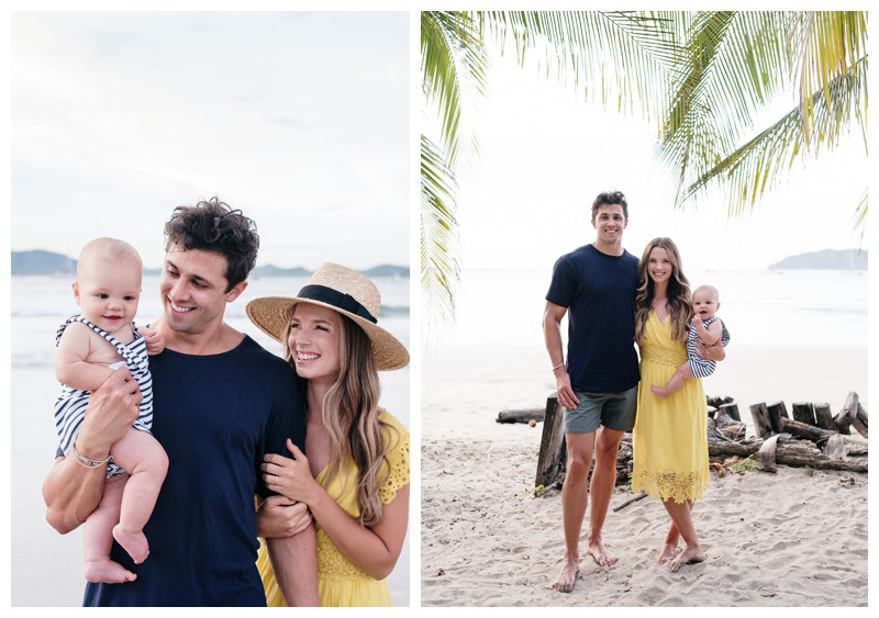 Tamarindo family photos. Photographed by Kristen M. Brown, Samba to the Sea Photography.