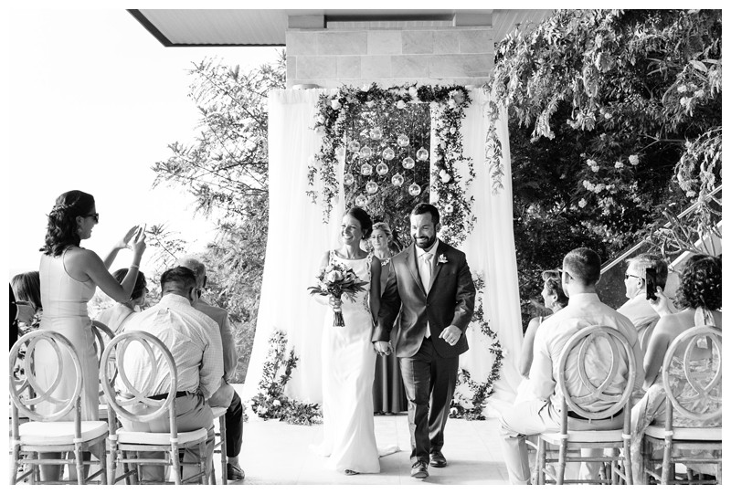 Tamarindo wedding at Casa Compass in Costa Rica. Photographed by Kristen M. Brown, Samba to the Sea Photography.