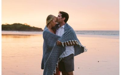 Beach Anniversary Photos in Costa Rica || Kelsey + Tony
