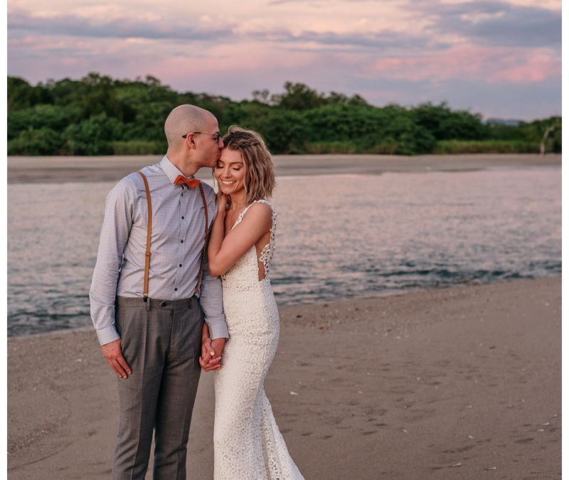 Intimate Destination Beach Wedding in Tamarindo || Lexi + Paul
