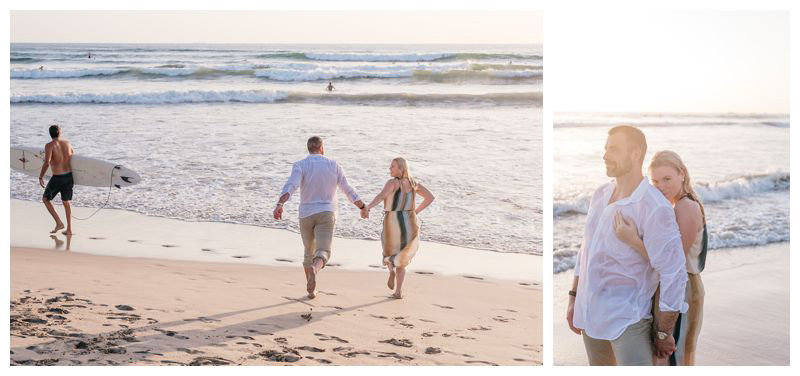 Playa Guiones Costa Rica engagement photos. Photographed by Kristen M. Brown, Samba to the Sea Photography.