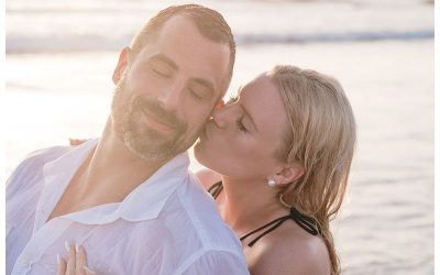 Playa Guiones Costa Rica Engagement Photos || Amanda + John