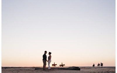 Proposal On the Beach in Tamarindo Costa Rica || Kelly + Ross