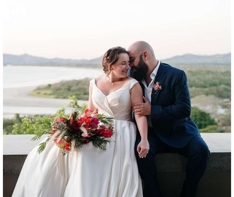 Intimate Wedding in Tamarindo Costa Rica at Alang Alang || Madeleine + Stephen