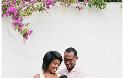 Baby's First Photos in Coral Gables, FL || Chisolm Family