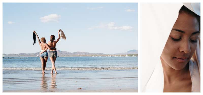 Lifestyle brand photos in Tamarindo Costa Rica for LIYA Collective. Photographed by lifestyle brand photographer Kristen M. Brown of Samba to the Sea.