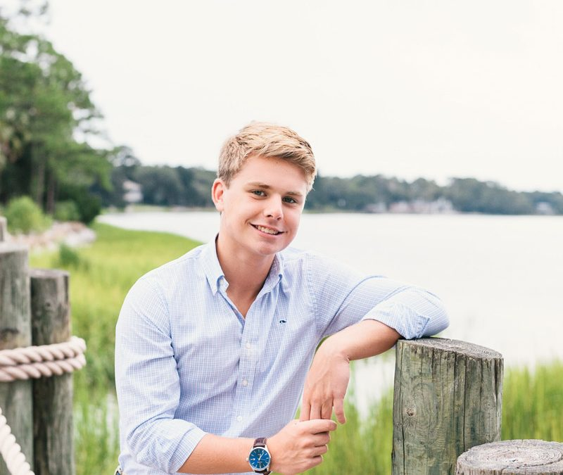 Senior Photos at The Landings in Savannah, GA || Daniel