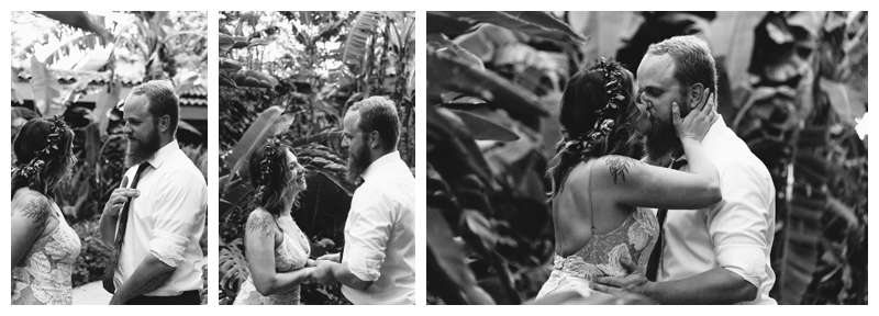 Vow renewal in Tamarindo Costa Rica. Photographed by Kristen M. Brown of Samba to the Sea Photography.