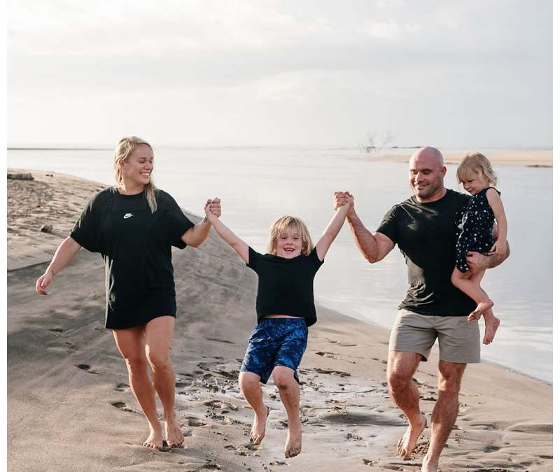 Family Vacation Beach Photos in Costa Rica || Pusch Family